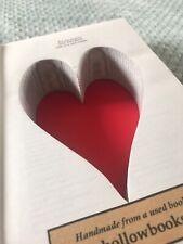 Hollow Heart Book Safe Secret Storage Box