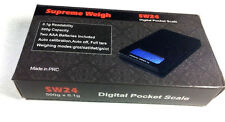 Supreme Weigh SW24 500g Digital Pocket Scale 0.1g AAA batteries included
