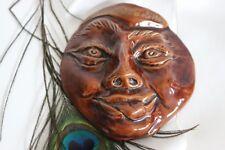 Masque Céramique Carnaval été 1960 Le Mans Vintage