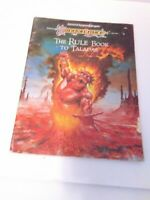 Vintage AD&D 2nd Edition, DragonLance: The Rule Book to Taladas (1989) TSR