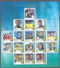 Australia-Olympic Games mnh 2000-Gold Medal Winners  Special sheet -limited edit