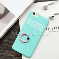 Fashion LOVE PINK 360 Ring Grip Stand TPU Case Cover For Apple iPhone 6 6s plus