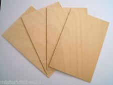4 Blatt Limba Starkfurnier Intarsien Modellbau basteln, Schreiner, Restauration