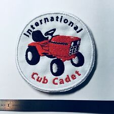 INTERNATIONAL HARVESTER RED 982 CUB CADET EMBROIDERED EMBLEM SEW-ON PATCH