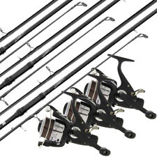 Carp Fishing Rod And Reel Set 3 Section 12ft / 3.6m Rod + Max40 2BB Carp Runner
