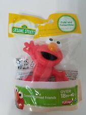 Sesame Street & Friends Elmo Figure 18+ months 3 inches tall Brand New