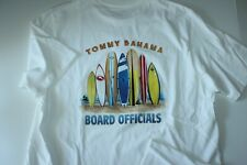 New listing Tommy Bahama T Tee Shirt Surf Board Officials White SS New Medium  M