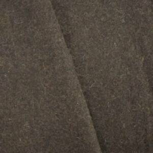 Soil Brown Texture Wool Blend Jacketing, Fabric By The Yard