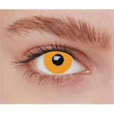Lentilles de contact fantaisie iris orange unisous environnement stérile [887033
