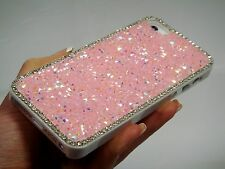 Pink Frame Made with Swarovski Crystal Rhinestone Case Cover Bling iPhone 7 Plus