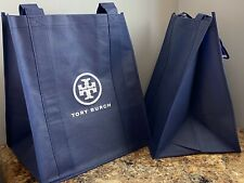SET OF 2 NEW TORY BURCH SHOPPING BAGS TOTES  FROM OUTLET (ReUsable Shopping Bag)