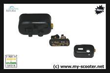 Vespa Lichtschalter schwarz Öffner 6V  V50 N L R SS Special 90, 125 VNA VNB, GTR