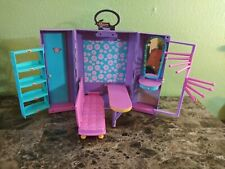 Play Along Hannah Montana Backstage Closet Playset Barbie Doll Clothes Carrier