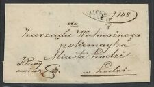 Poland Prestamp Lask Bilingual Polish/Russian c.1860