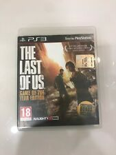 the last of us PS3 GAME OF THE YEAR EDITION ITA - ITALIANO