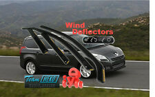 Peugeot 5008  2010 - 2016  5.doors  Wind deflectors  4.pc  HEKO   26142