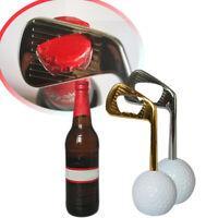 Golf Ball Bottle Opener Zinc Alloy Beer Cap Puller Openers Golf Training AidsLDU