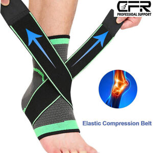 Ankle Brace Support Plantar Fasciitis Compression Foot Sleeve Wrap Jogging Pain