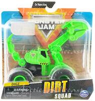 Spin Master 2020 Monster Jam Dirt Squad Tractors for Monster Dirt DIGZ NEW 2020