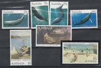 Australia 1982/Later Whales Plus High Values MNH J8960