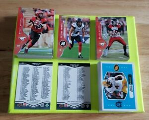2017 Upper Deck CFL Master Set 1-160 PLUS O-Pee-Chee 40 Card Set 200 Cards Total