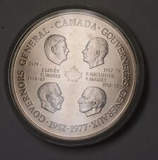 1977 Canada Governor General Jubilee Large Medal Brilliant Uncirculated in Case