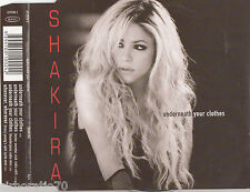 SHAKIRA Underneath Your Clothes CD Single
