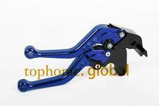 Short Blue CNC Clutch Brake Levers For YAMAHA YZF R1 2011 2013 2012 2009-2014