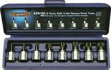 VIMXZN100 8Pc Triple Square 4Mm-16Mm 3/8 Dr Set