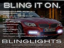 BMW Z-Series LED DRL Head Light Strips Pair Day Time Running Lamps Kit Z3 Z4 Z8