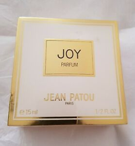 RARE VINTAGE JEAN PATOU JOY 15ml PARFUM EXTRACT CELLOPHANE SEALED