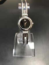 Women's Swiss Movado Diamond Harmony  Stainless Bangle Watch