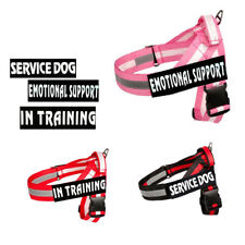 Reflective Pet Dog Harness No Pull Training Walk out Strap Soft Vest & Patches