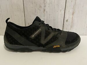 New Balance Minimus Vibram Mens Size 11.5 EE 2E Black Vibram Shoes Lightweight