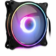 Gehäuselüfter Kühler PC 120 mm Lüfter Computer RS-081 RGB-Effekten LED-Lüfter