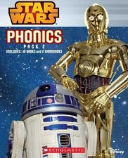 Star Wars Pack 2 Phonics Childrens Books Learn to Read Beginning Readers Lot NEW