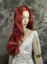 Fab JEAN Wig .. TOP QUALITY!   X-Men 3 .. Fire Red Color!