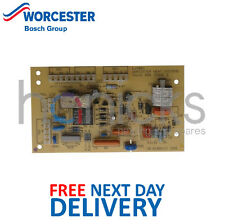 Worcester Bosch 230 240 280 400 9.24 RSF Ignition PCB 87161463050 Genuine *NEW*
