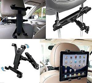 Universal In Car Headrest Back Seat Holder Mount iPad Air 1,2,Air 3 2019 & 10.2