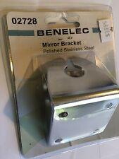 Benelec Mirror Bracket Stainless Steel 02728 for CD7195,CD2195,CD2197 Antennas