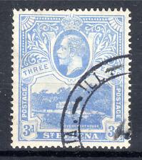 St Helena 3d KGV  fine used 1922 [S906]