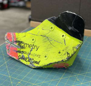 HyperShock Armor 2021 BattleBots (End Game Match) Autographed