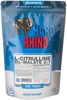 Hard Rhino L-Citrulline DL-Malate 2:1 Powder, 500 Grams 500 Gram (1.1 Pound)