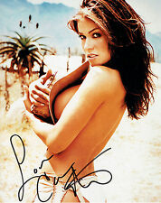 Carmen ELECTRA Signed Autograph 10x8 Photo AFTAL COA American Glamour Model