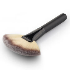Large Fan Shape Face Powder Foundation Concealer Blusher Blend Brush Beauty