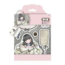 Gorjuss Rubber Stamp-Santoro- (7 pieces) Sweet Tea for cards & crafts