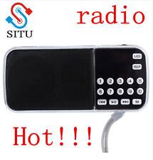 2018hot L-088 Portable FM Radio Speaker Digital Stereo Mini Music Player with TF