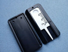 2x Reifenprofilmesser Tiefenmesser Profiltiefenmesser 1-20mm schwarz / weiß