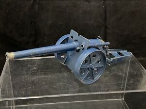 VINTAGE BRITAINS TOY SOLDIERS 4.7 BLUE NAVAL CANNON