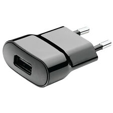 GENUINE BLACKBERRY EUROPE TRAVEL ADAPTER EU 2 PIN USB MAINS PLUG FAST CHARGER